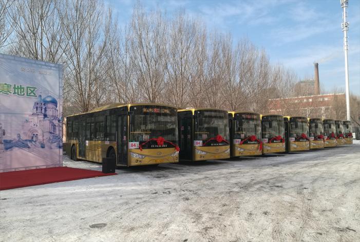 成功案例:祝贺哈尔滨禹圣客运有限公司使用赛威实业公交车LED电子路牌产品