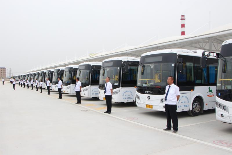 成功案例:热烈庆祝甘肃武威凉州城区电动公交车LED电子显示屏成功投入运营